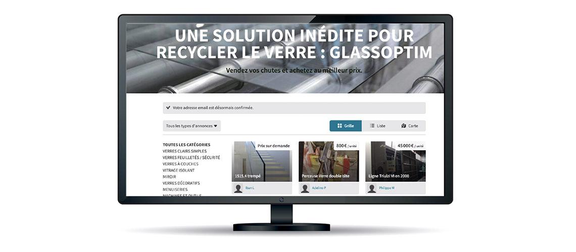 GlassOptim s'intéresse au recyclage des chutes de verre