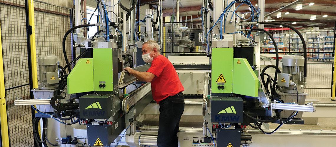 Les Nouvelles Menuiseries Grégoire modernisent leur usine PVC