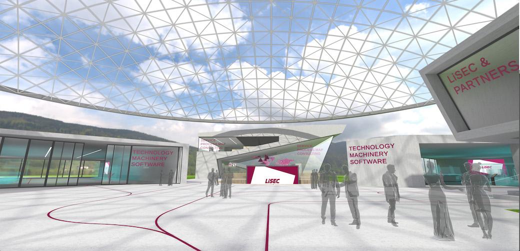 """LiSEC Campus """"all in one solutions"""" : L'univers virtuel à destination des transformateurs de verre plat"""