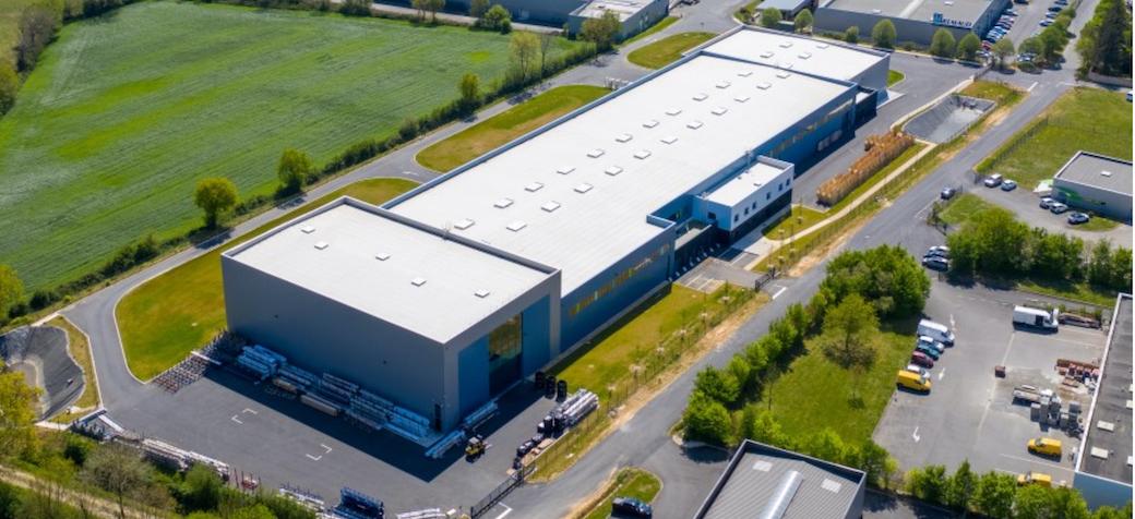 Nouvel outil de fabrication de 8000m2 dédié à l'aluminium pour FPV-Industries Bremaud