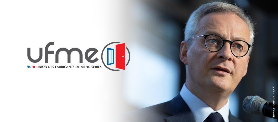 UFME, Bruno Cadudal écrit au ministre de l' Economie et des Finances
