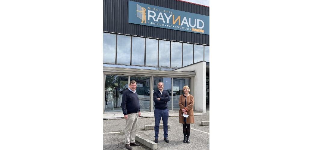 K-Stores et Miroiterie Raynaud, unis par la volonté de leur dirigeant
