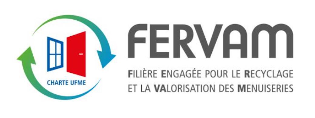 """L'Ufme crée la marque """"FERVAM"""" : filière engagée pour le recyclage et la valorisation des menuiseries"""