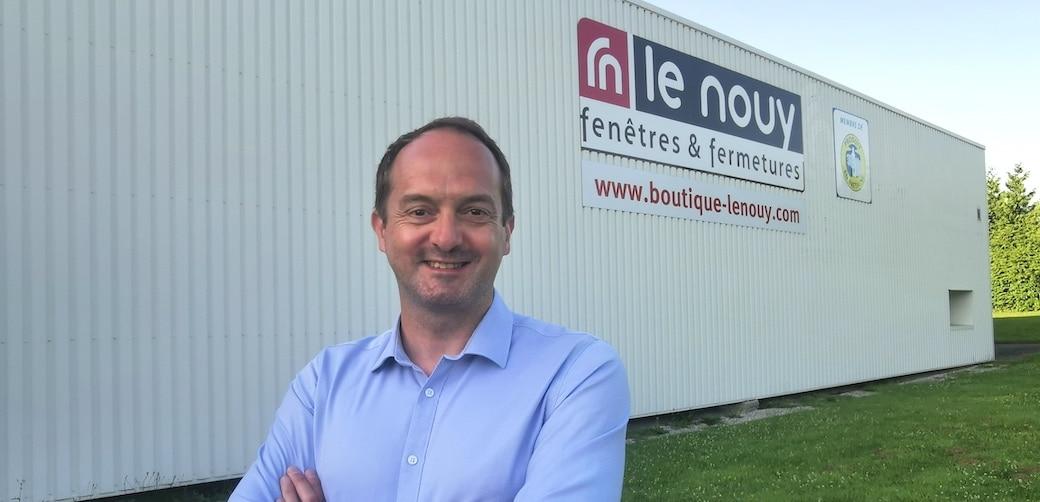 Gwénaël Le Viol, nouveau Directeur Général de la société Le Nouy