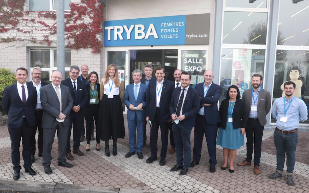 """Tryba développe un atelier """"vitrage"""" 4.0 sur son site industriel de Gundershoffen"""